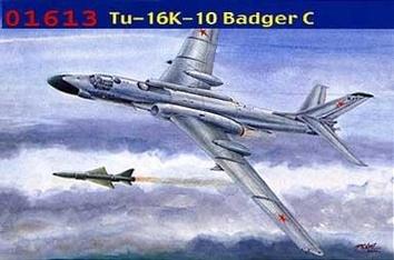 Сборная модель самолёта ТУ-16k-10