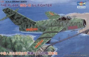 Самолет МиГ-15 бис