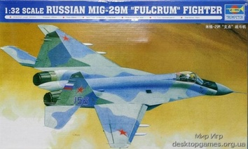 Стендовая модель самолета МиГ-29M «Fulcrum»