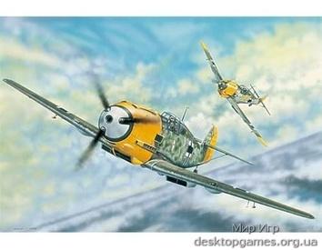 Самолёт Messerschmitt Bf 109E-3