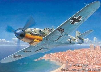 Самолёт Messerschmitt Bf 109F-4