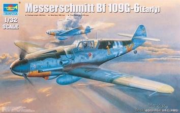 Модель немецкого истребителя Мессершитт Bf 109G-6 (ранняя версия)