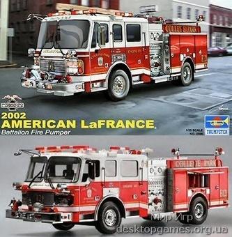 Пажарный автомобиль LaFrance Eagle Fire Pumper 2002