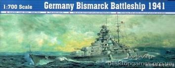 Немецкий линкор «Бисмарк« 1941