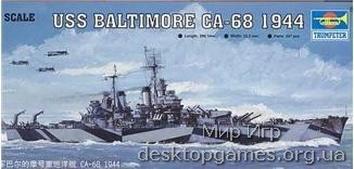 Крейсер USS BALTIMORE CA-68 1944