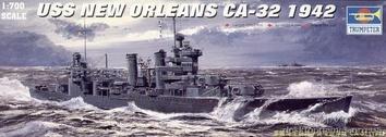 Американский тяжёлый крейсер НОВЫЙ ОРЛЕАН CA-32(1942)