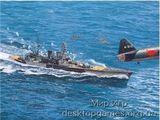 Английский крейсер Repulse 1941