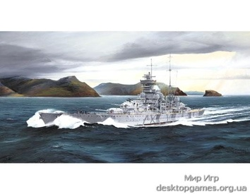 Немецкий линкор Prinz Eugen 1942