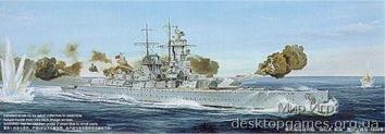 Немецкий крейсер Admiral Graf Spee 1939