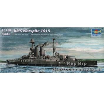 Корабль HMS Warspite 1915