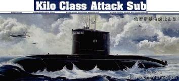 Модель советской подводной лодки Кило (Варшавянка)