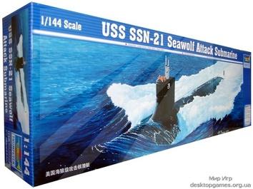 Подводная лодка USS SSN-21 SeaWolf