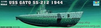 Американская подводная лодка GATO SS-212 1944
