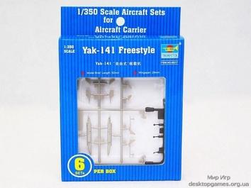 Пластиковая модель самолета ЯК-141