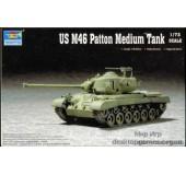 Масштабная модель американского среднего танка M46 Patton