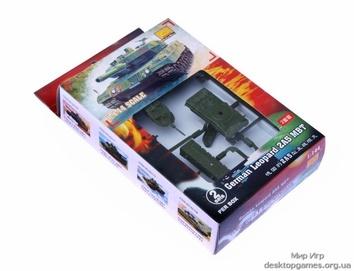Мини-танк  Леопард 2А5  ( по 2шт.в коробке) MHM