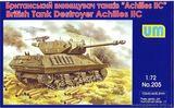 """Сборная модель британского истребителя танков """"Ахиллес II"""""""