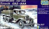 UM317 GAZ-AAA WW2 Soviet truck