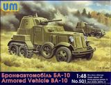 БА-10 советский бронированный автомобиль