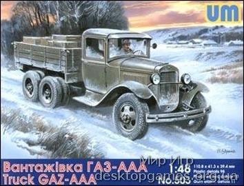 UM503 GAZ-AAA Soviet truck
