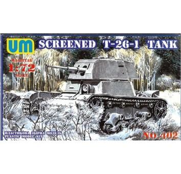 Советский легкий танк Т-26-1E
