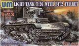 UMT405 T-26/BT-2 Soviet light tank