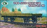 Two axle pilot car (long 9.2 meter)