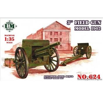 3-дм. Полевая пушка образца 1902 года.