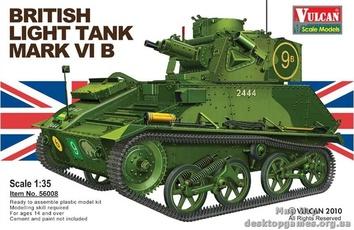 Британский лёгкий танк Mk VI