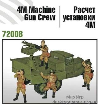 4М пулеметный расчет