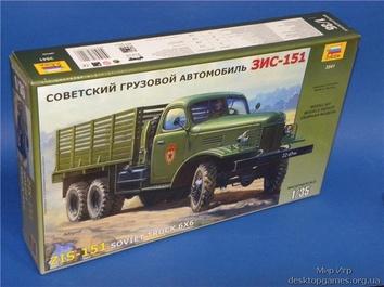 ZVE3541 ZiS-151 WWII Soviet Army truck