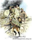 ZVE3544 Soviet Tank Infantry WWII