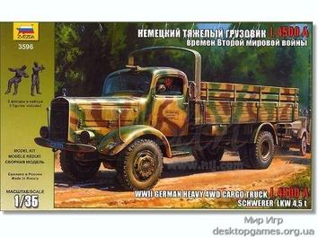 Немецкий тяжелый грузовик «Mersedes-Benz L 4500S»