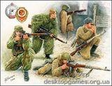 ZVE3597 WWII Soviet sniper team