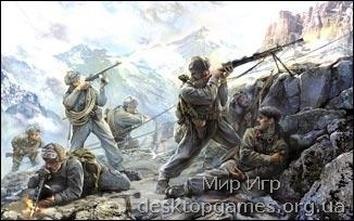 ZVE3606 WWII Soviet mountain infantry
