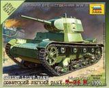 Советский легкий танк Т-26М