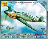 Немецкий истребитель Мессершмитт BF-109 F2 «Сборка без клея»