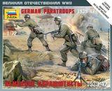 Масштабные фигурки немецких парашютистов 1939-1942