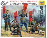 Фигурки лучников Асигару-аркебузеры