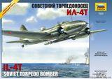 ZVE7223 Ilyushin Il-4T Soviet WW2 torpedo-bomber
