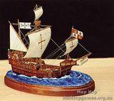 Модель корабля Санта Мария (Santa Maria), Mini-kit Waterline