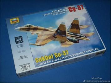 ZVE7241 Su-37 Russian fighter
