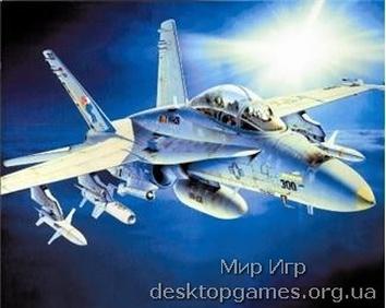 ZVE7290 F-18C/D HORNET USAF fighter