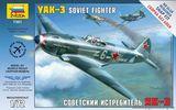 Модель самолета Як-3 для сборки без клея