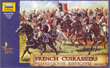 Французские кирасиры, 1807-1815
