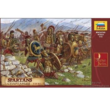 Сборные пластиковые фигурки Спартанцы V-IV до н.э