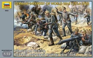 Немецкая пехота Первой мировой войны 1914-1918