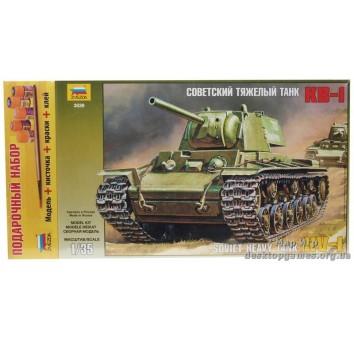 """Подарочный набор с моделью танка """"КВ-1"""""""
