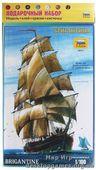 """Подарочный набор с моделью корабля """"Бригантина"""""""