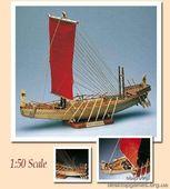 Модель древнеегипетского корабля Наве Эгизиа (Nave Egizia)